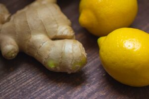 ginger and lemons